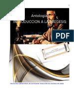 Antología Introduccion a La Exegesis