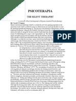 Equinoterapia y Piscoterapia Ingles