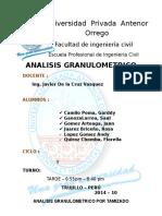 ANALIIS GRANULOMETRICO