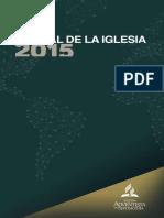 Manual de La Iglesia a7dia 2015