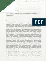 Fehrenbach the Pathos of Function Leonardos Technical Drawings 2008