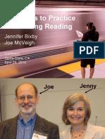 Principles of Teaching Reading