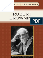 Bloom's Classic Critical Views--Robert Browning