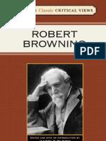 Bloom's Classic Critical Views--Robert Browning