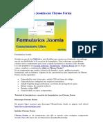 Formularios en Joomla Con Chrono
