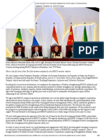 8th BRICS Summit Goa Declaration
