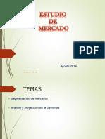 II Unidad Estudio de Mercado Clase 2 2016