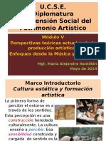 Cultura Estética y Formación Artística