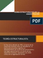 teoriaestructuralistadeadministracion-131027193800-phpapp01