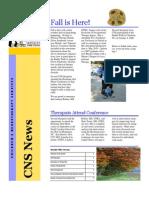 CNS Newsletter - 2008-10