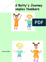 John and Betty Complex Numbers Story