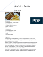 Delicias Ivy- Comida.docx