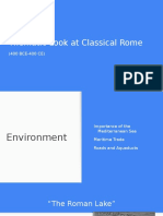 classical rome themes