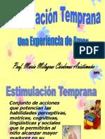 Estimulación Temprana Ponencia