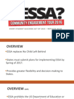 ESSA Presentation from the Alabama State Department of Education