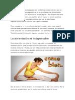 Consejos de Fitness Para Embarazadas