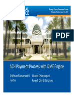 1605 ACH Payment Process With DME Engine