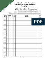 Diario Classe Novo