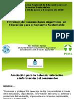 Educacion Para El Consumo Sustentable Carmen Varese