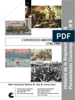 Ficha Contexto Histórico Historia de la arquitectura (DE 1750 1900)
