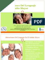 AlEl Lenguaje en El Adulto Mayor