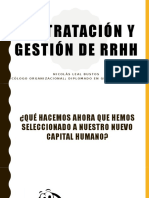 Contratación y Gestión RRHH