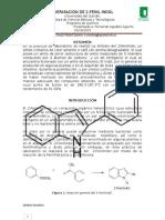 Laboratorio # 6 Preparación Del 2-Fenilindol