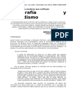 Etnografia y Periodismo