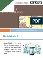 Aula 03 Usabilidade PrincipiosDesign