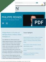 Beacon Global Strategies › Philippe Reines.pdf