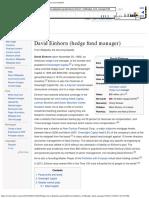 David Einhorn (hedge fund manager) - Wikipedia, the free encyclopedia.pdf