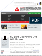EU Signs Gas Pipeline Deal With Ukraine _ OilPrice.com.pdf