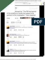 Jason Chaffetz Twitter ನಲ್ಲಿ_ _FBI Dir just informed me, _The FBI has learne.pdf