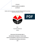Cover Jilid Analisis Stabilitas Lereng