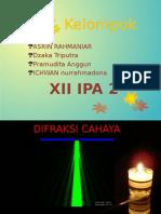 difraksi cahaya