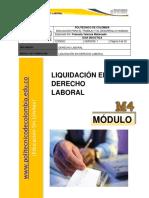 Modulo 4 D. Laboral