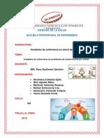 Trabajo Colaborativo Cuidados de Enfermería en Problemas de Salud Mental Por Estrés 1