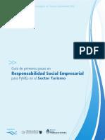 Guía de Primeros Pasos en Responsabilidad Social Empresarial Para PyMEs en El Sector Turismo