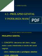 4.2 PROLAPSO GENITAL Y PATOLOGÍA MAMARIA.ppt