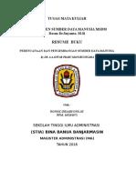 resume Manajemen Sumber Daya Manusia.docx