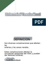 Enfermedad Vascular Renal