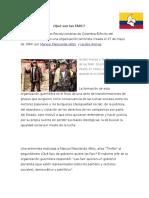 ¿Qué Son Las FARC?