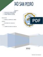 Informe de Compactacion de Suelos 1