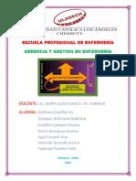 Arellano ORGANIGRAMA JERUZALEN Gerencia y Gestion Enfermeria