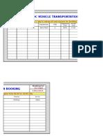 Vehicle Transportation Booking