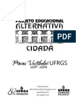 Todas Provas UFRGS 2011-2014