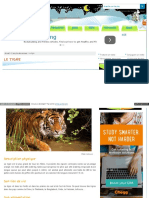 Www Webjunior Net Encyclopedie Le Tigre 10 Php
