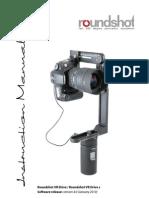 Roundshot VR Drive Instruction Manual