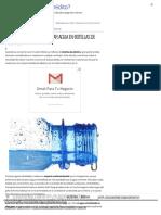 5 Razones Para No Comprar Agua en Botellas de Plástico - ElBlogVerde