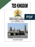 UK Energy Pocy Lwas Regulations